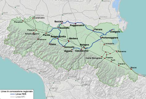 orari emilia romagna contesto di riferimento ferrovie e r mobilit 224