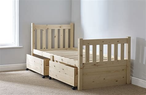 2ft 6 bed frame athens 2ft 6 small single pine storage bed frame