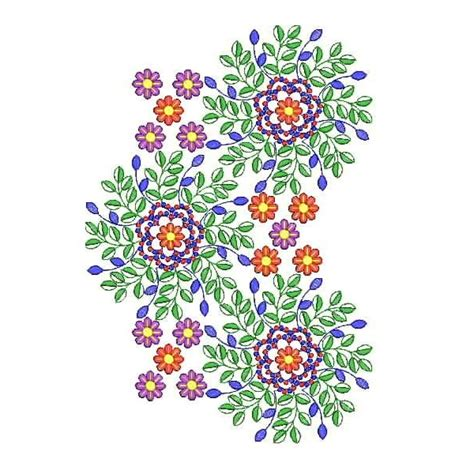 flower pattern embroidery design small flower machine embroidery design