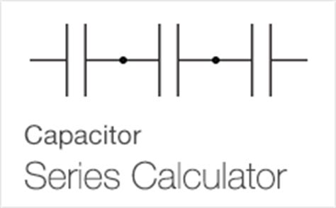series capacitor charge calculator resistance and capacitance calculators from ab electronics