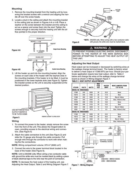unit heater wiring diagram modine heater manuals free