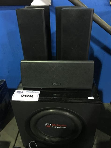 mclaren technologies home theater speaker set