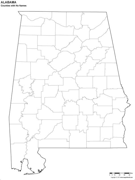 map of usa alabama blank alabama county map for to color