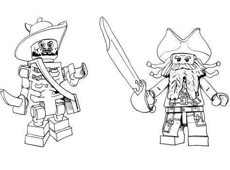 Coloriage Lego Pirates Des Caraibesl