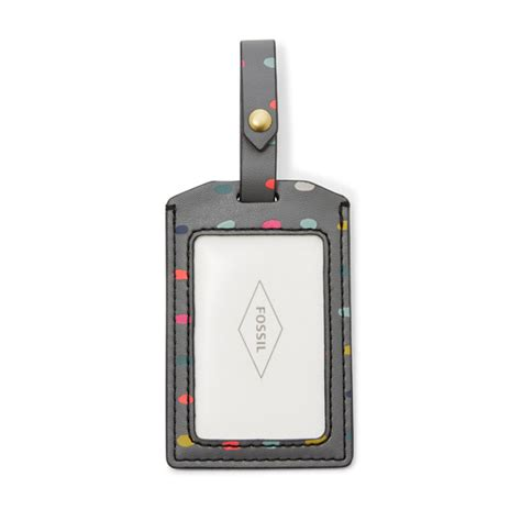 Fossil Luggage Tag 2 keely passport and luggage tag gift set fossil