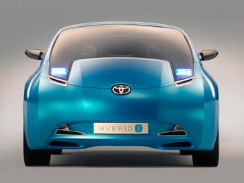 Toyota Hybrid X Concept Hits The Showroom by Showroom Toyota Hybrid X Concept Car