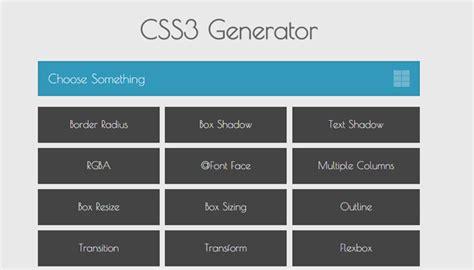 css background image pattern generator top free css3 code generators