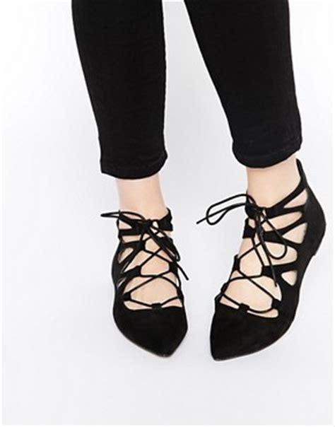 Sepatu Ballet Zara s flat shoes ballet pumps brogues asos