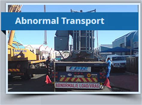 fdn road transport services in south africa