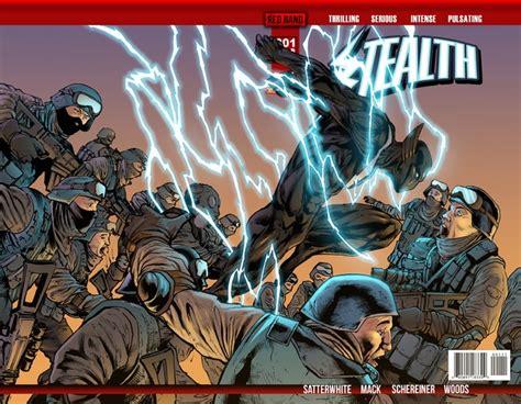 stealth comic book series launch by fuse media llc kickstarter