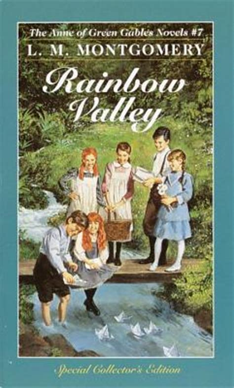 green gables picture book rainbow valley of green gables 7 by l m