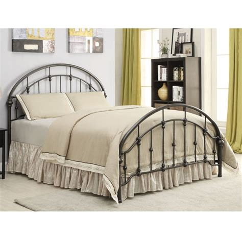 Metal Bed Headboard And Footboard Iron Beds And Headboards Metal Queen Size Bed With Curved