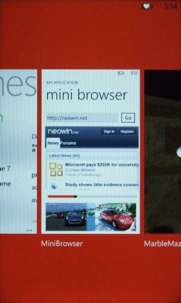 Fast Resume Windows Phone 7 by Windows Phone 7 Mango Restores State Offers Instant