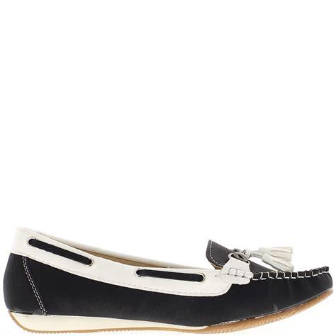 chaussures été femme chaussures mocassins femme noires confort 224 petit talon compens 233 avec lacet chaussmoi