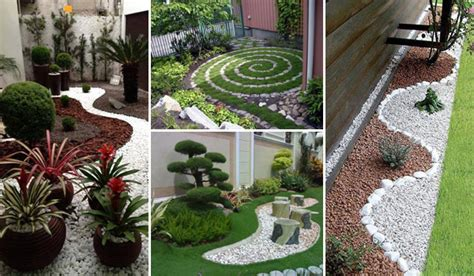 25 Cool Pebble Design Ideas For Your Courtyard Amazing Small Pebble Garden Ideas