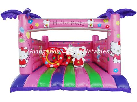 kitty inflatable bouncer  kids yl inflatables