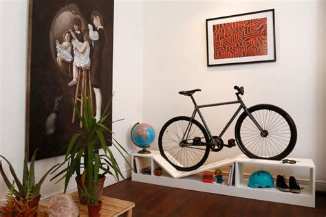bike storage for small apartments this furniture doubles as beautiful bike storage for tiny