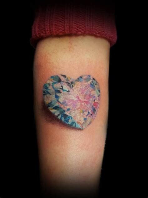diamond heart tattoo 1000 ideas about tattoos on small
