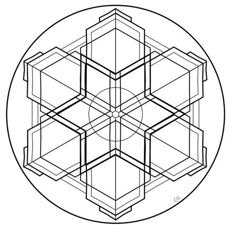 geometric circle coloring pages 30 best images about geometric mandala design patterns on