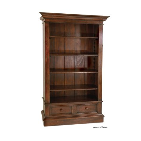 magdalena wood bookcase