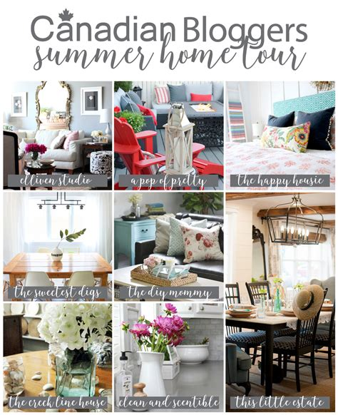 home design blogs canada summer decorating ideas canadian bloggers home tour