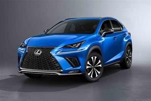 2018 lexus nx shows new design in shanghai