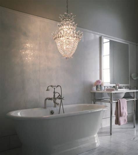 bathroom chandelier lighting ideas big chandeliers for your bathroom decor inspiration and
