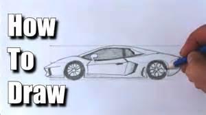 how to draw a sports car lamborghini youtube