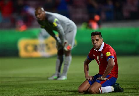 alexis sanchez goal for chile arsenal injury news alexis sanchez was not fit but i