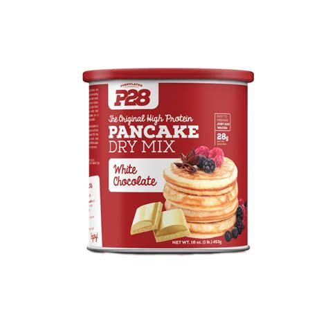protein pancake mix p28 high protein pancake mix white chocolate 453g