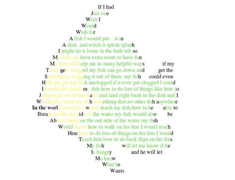 concrete poetry faria fifth grade