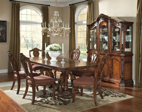 north shore dining room set by ashley millennium d553 dining table sets part 4
