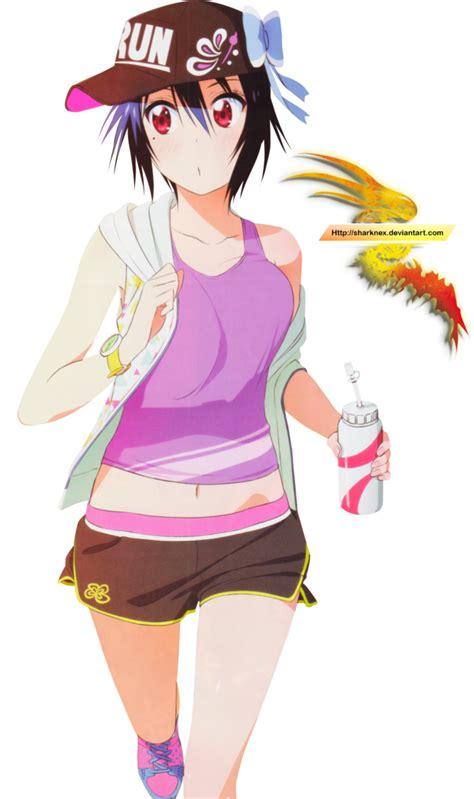 Kaos Anime Fullprint Nisekoi Tsugumi 1 tsugumi sportwear render by sharknex on deviantart