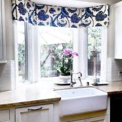 kitchen bay window curtain ideas best 10 kitchen window valances ideas on