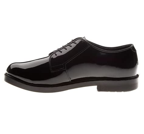 high gloss oxford shoes bates durashocks hi gloss oxford shoes e00111