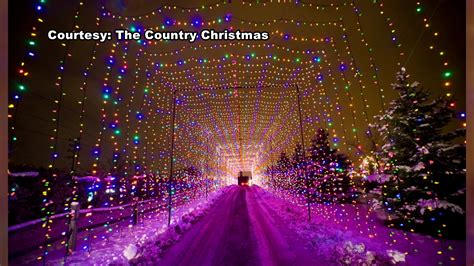 Country Christmas Display In Pewaukee Open Through New Pewaukee Lights