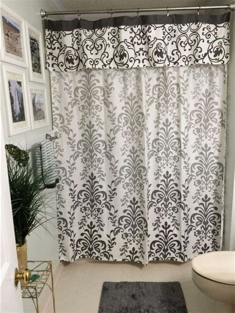 drape shower curtains best 25 shower curtain valances ideas on pinterest