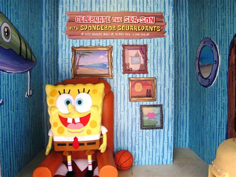 spongebob house first ever outdoor spongebob playland at city square mall alvinology