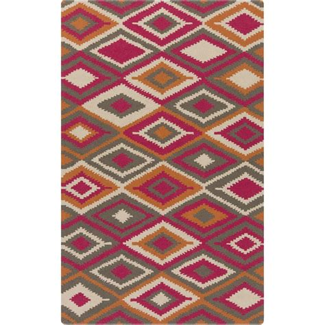 artistic weavers pilatus pink 9 ft x 12 ft indoor