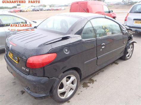 Spare Part Peugeot 206 peugeot 206 cc breakers peugeot 206 cc spare car parts