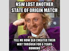 NSW lost another state of origin match tell me how qld ... I'm Lost Song