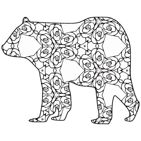 geometric cat coloring page 30 free coloring pages a geometric animal coloring