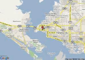 map of panama florida map of panama city