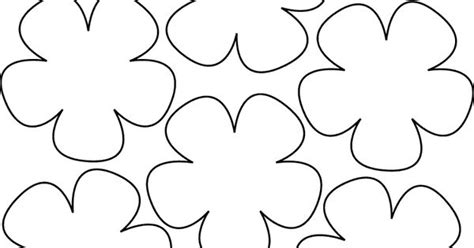 paper flower lei pattern paper flower templates templates for wafer paper flowers