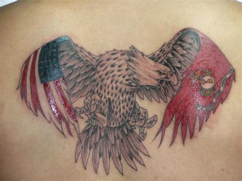 eagle wings tattoos designs american flag tattoos the finest american patriotism