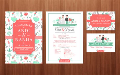 template undangan walimah cdr download template undangan download template undangan vintage cdr jago desain