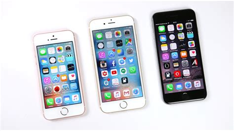 apple iphone se vs iphone 6s vs iphone 6 benchmark swagtab