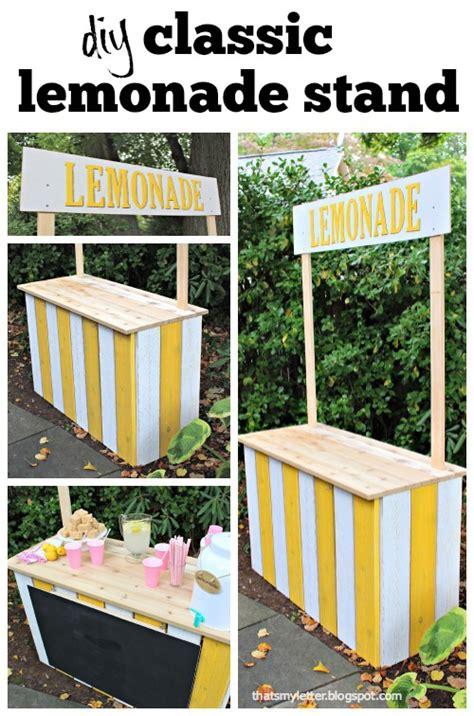 diy lemonade stand diy lemonade stand jaime costiglio