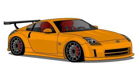 Nissan 350z Practice Drawing By Blazegtr On Deviantart