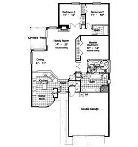 lutz lake narrow lot home plan 047d 0010 house plans and